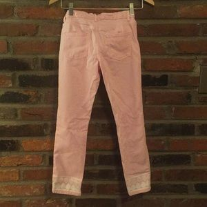Vineyard Vines Bottoms - Light Pink Girls Saylor Jeans